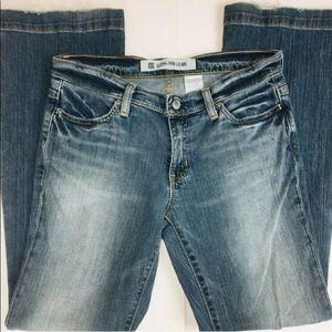 GAP Ankle Long & Lean Jeans Stonewashed Denim Tall